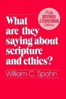 What are They Saying About Scripture and Ethics? als Taschenbuch