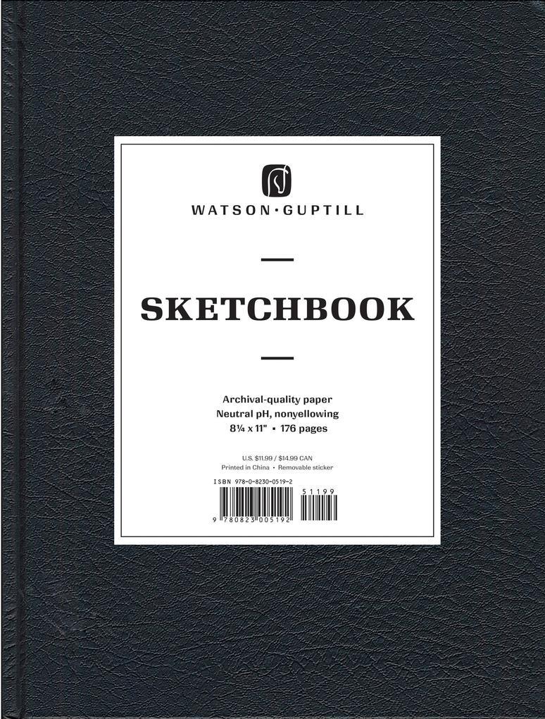 Large Sketchbook (Kivar, Black) als Buch