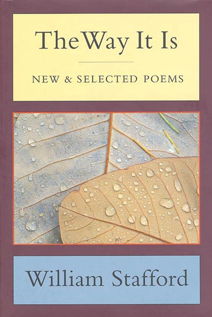 The Way It Is: New and Selected Poems als Buch