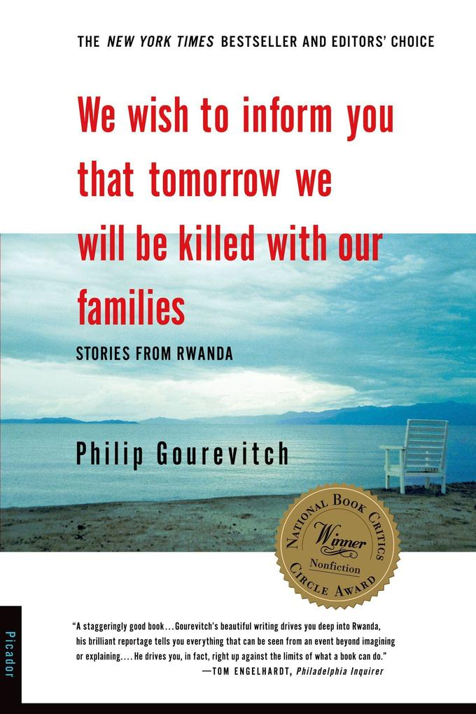 We Wish to Inform You That Tomorrow We Will Be Killed with Our Families: Stories from Rwanda als Taschenbuch