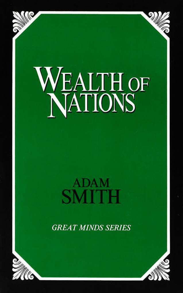 Wealth of Nations als Taschenbuch