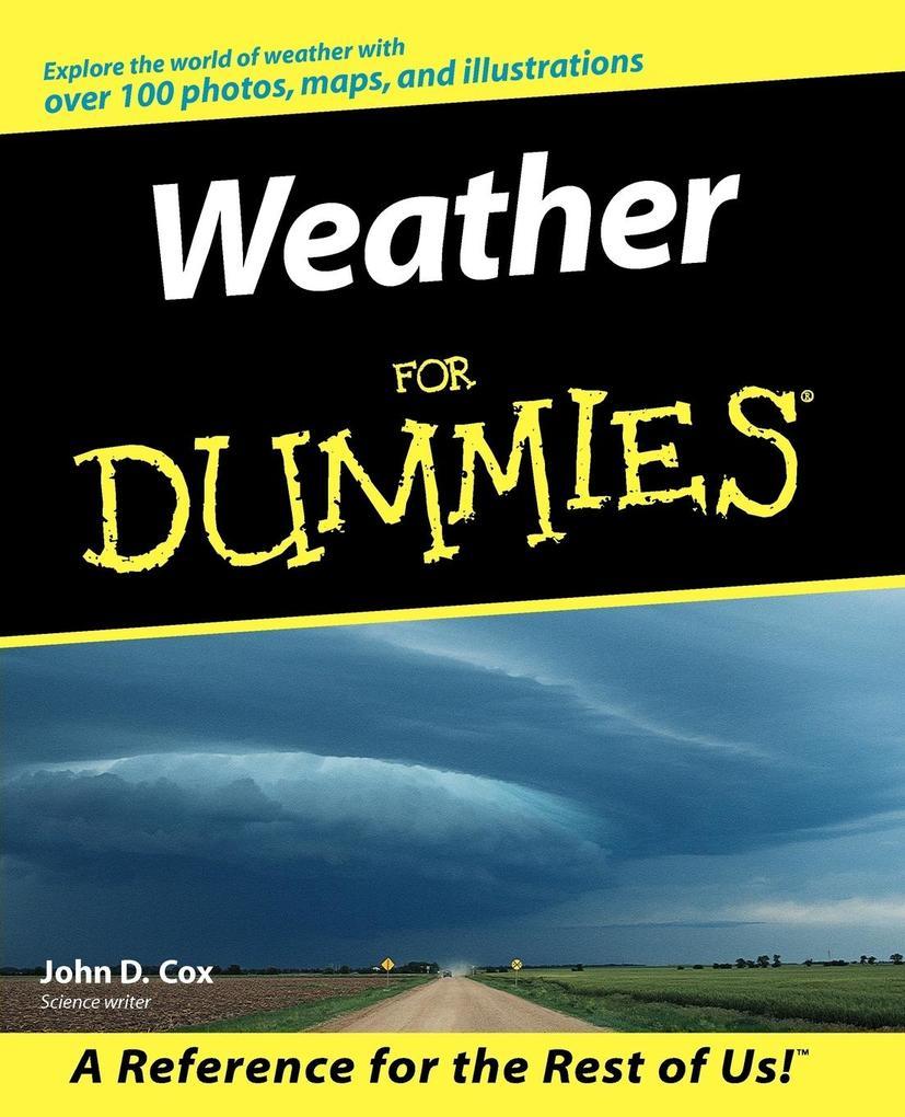 Weather for Dummies. als Buch