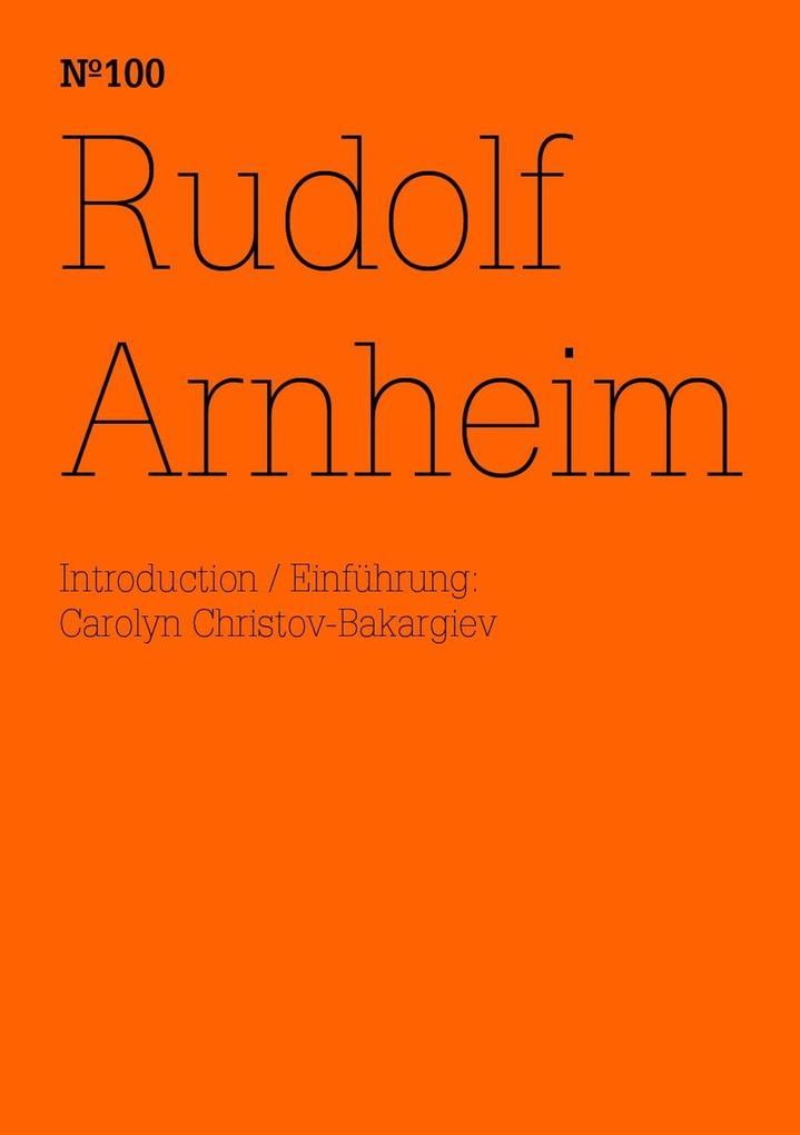 Rudolf Arnheim als eBook