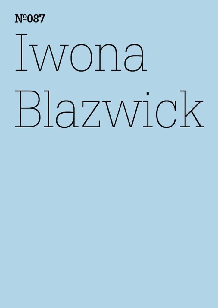 Iwona Blazwick als eBook