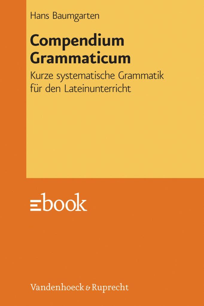 Compendium Grammaticum als eBook