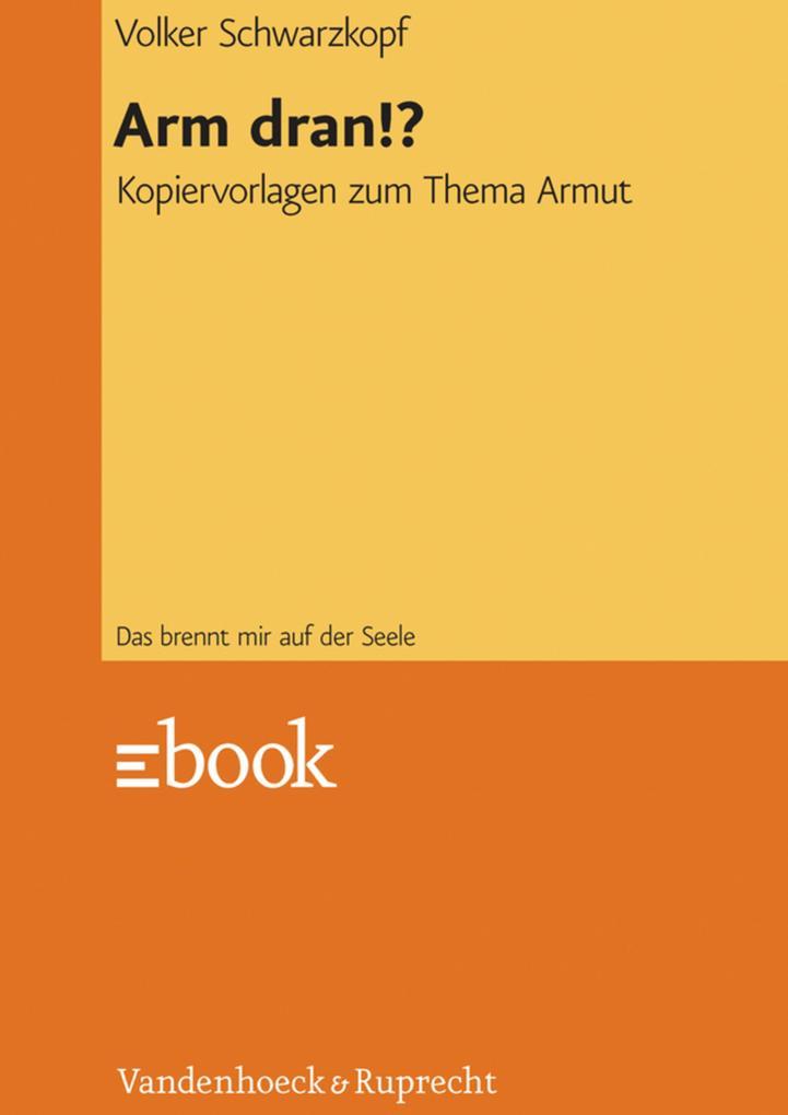Arm dran!? als eBook pdf