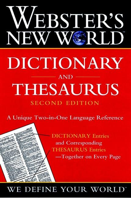 Webster's New World Dictionary and Thesaurus, 2nd Edition (Paper Edition) als Taschenbuch