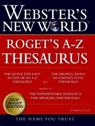 Webster's New World Rogets A-Z Thesaurus als Buch