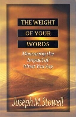 The Weight of Your Words als Taschenbuch