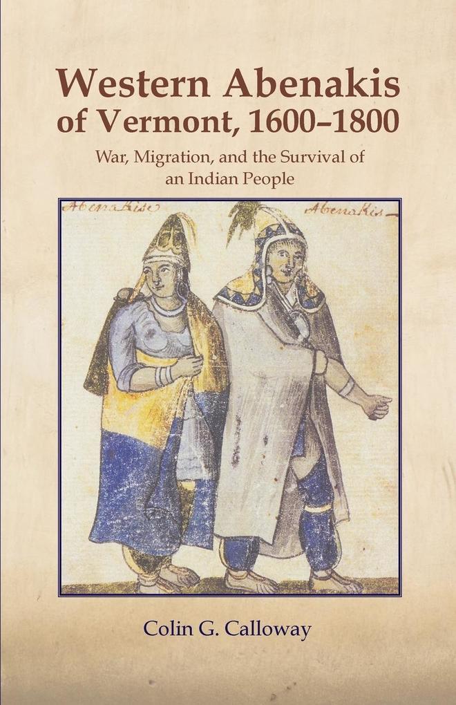 Western Abenakis of Vermont als Taschenbuch