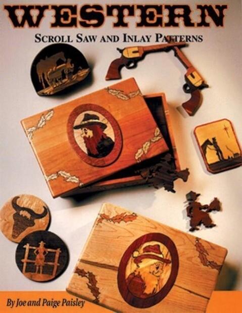 Western Scroll Saw and Inlay Patterns als Taschenbuch
