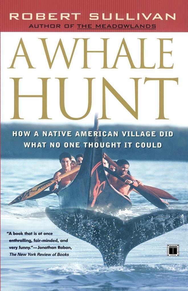 A Whale Hunt als Taschenbuch