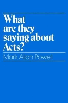 What Are They Saying about Acts? als Taschenbuch