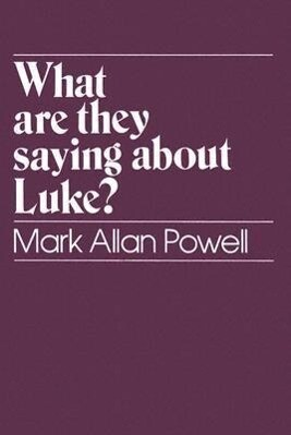 What are They Saying About Luke? als Taschenbuch