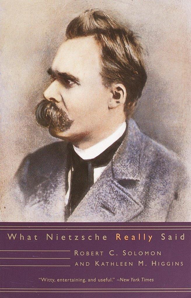 What Nietzsche Really Said als Taschenbuch