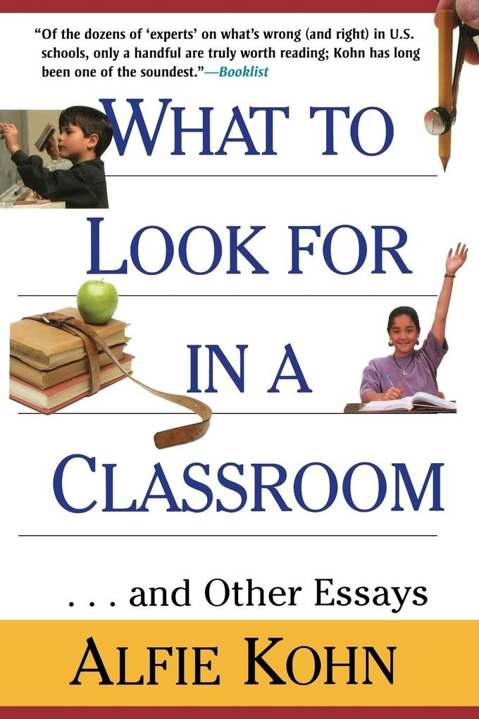 What to Look for in a Classroom als Taschenbuch
