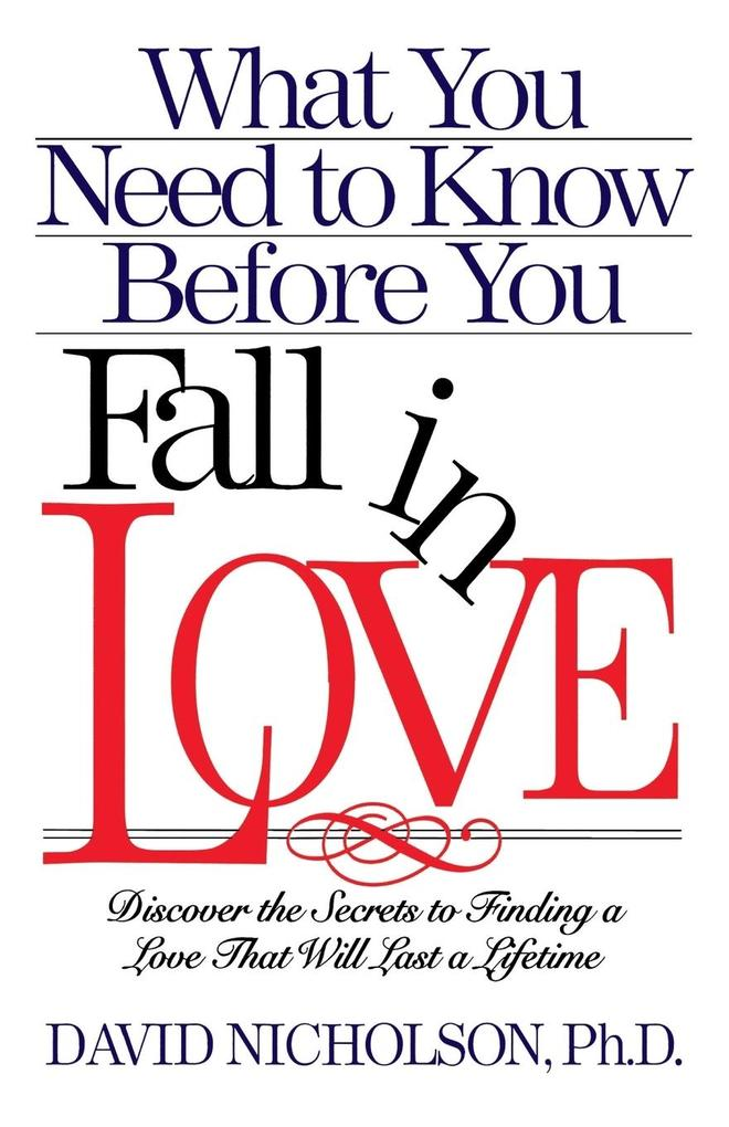 What You Need to Know Before You Fall in Love als Taschenbuch