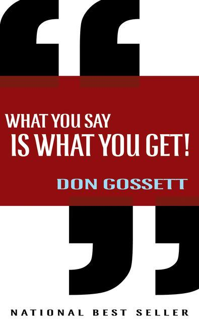 What You Say Is What You Get als Taschenbuch
