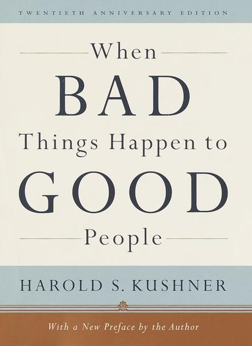 When Bad Things Happen to Good People als Buch