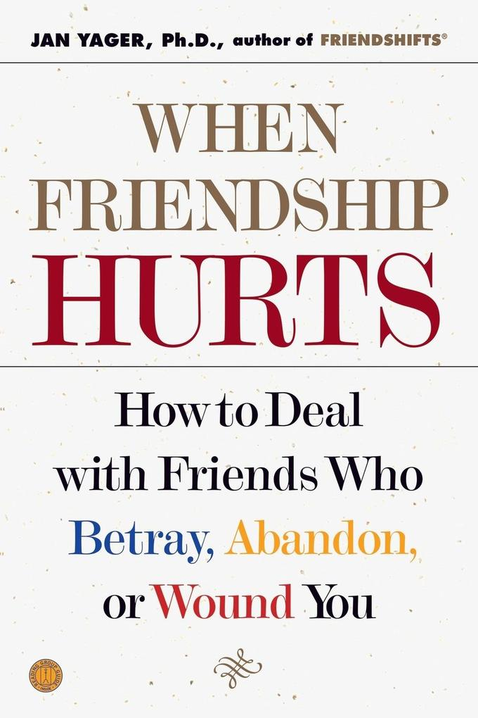 When Friendship Hurts als Buch