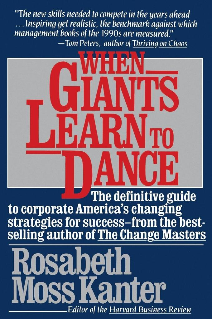 When Giants Learn to Dance als Taschenbuch