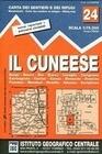 IGC Italien 1 : 75 000 Wanderkarte 24 Il Cuneese