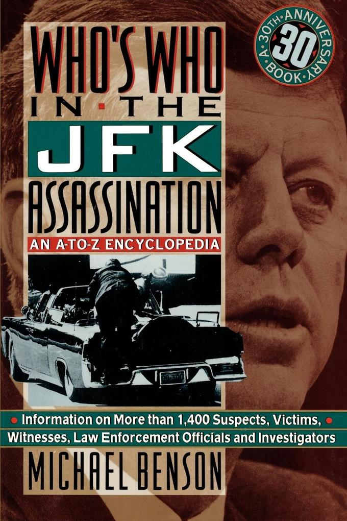 Who's Who in the JFK Assassination als Taschenbuch