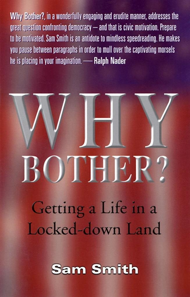 Why Bother?: Getting a Life in a Locked-Down Land als Taschenbuch