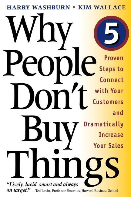 Why People Don't Buy Things als Taschenbuch