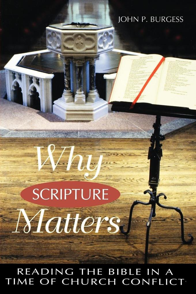 Why Scripture Matters: Reading the Bible in a Time of Church Crisis als Taschenbuch
