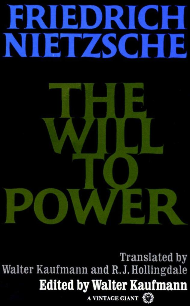 The Will to Power als Taschenbuch