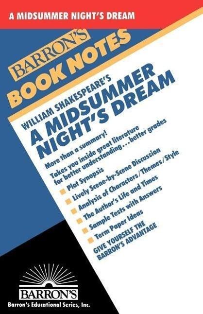 William Shakespeare's a Midsummer Night's Dream als Taschenbuch