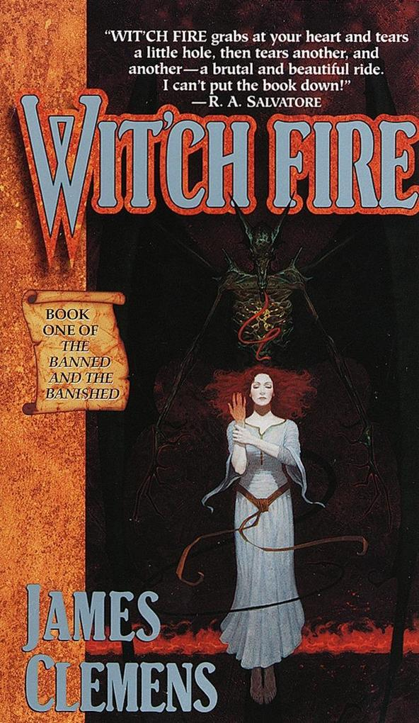 Wit'ch Fire: Book One of the Banned and the Banished als Taschenbuch