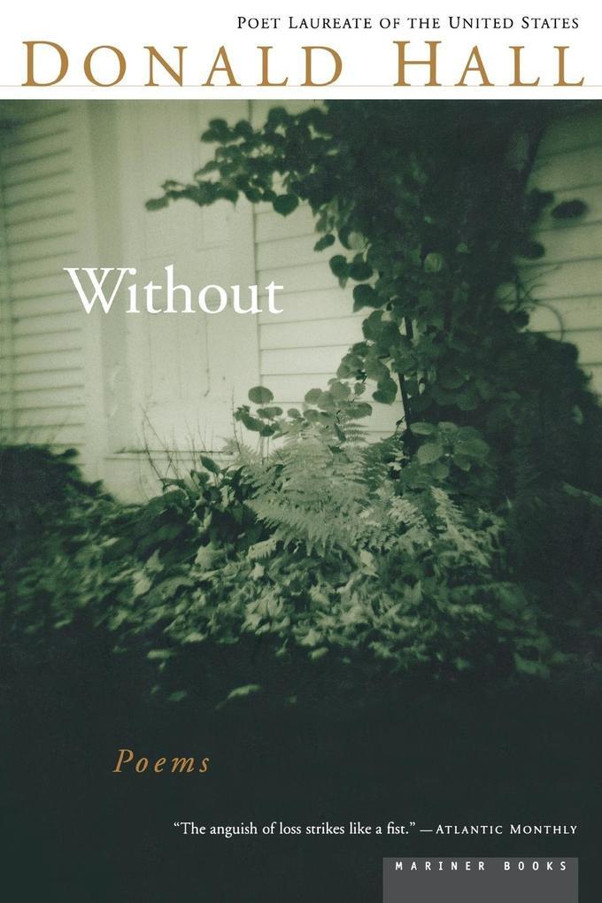 Without: Poems als Taschenbuch
