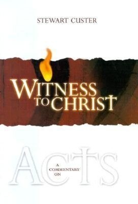 Witness to Christ: A Commentary on Acts als Buch
