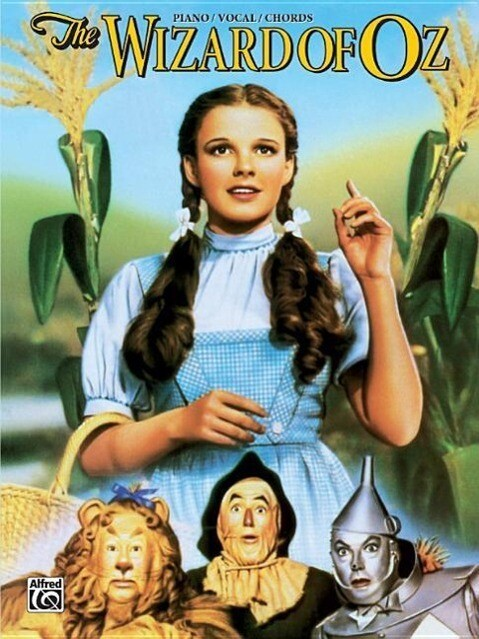 The Wizard of Oz (Movie Selections): Piano/Vocal/Chords als Taschenbuch