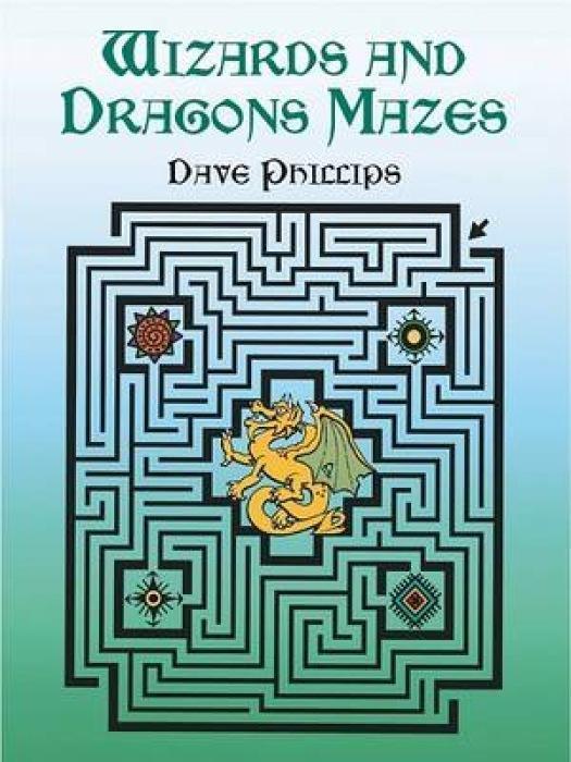Wizards and Dragons Mazes als Taschenbuch