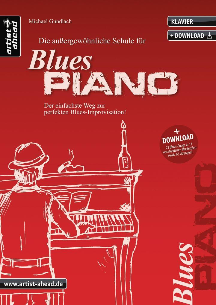 Die Schule für Blues Piano als Buch