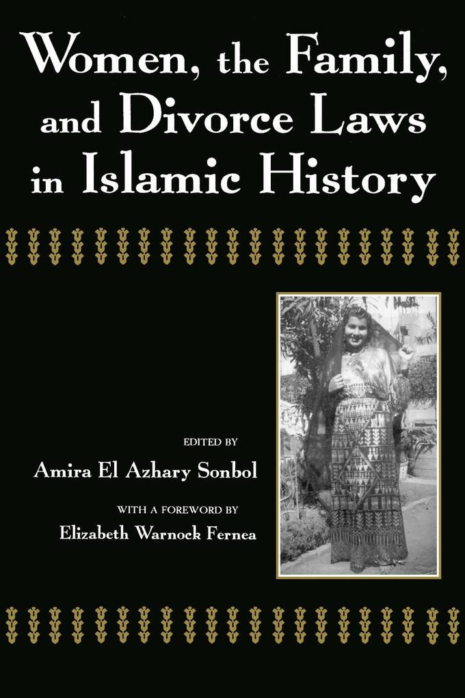 Women, the Family, and Divorce Laws in Islamic History als Taschenbuch
