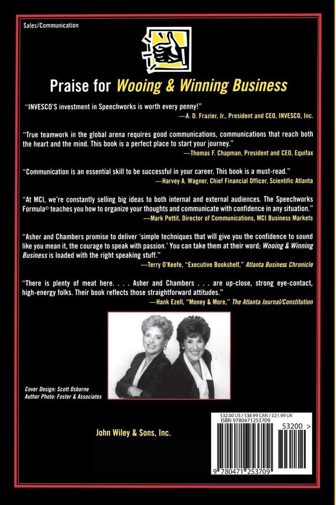 Wooing and Winning Business: The Foolproof Formula for Making Persuasive Business Presentations als Taschenbuch