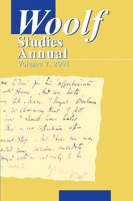 Woolf Studies Annual als Taschenbuch