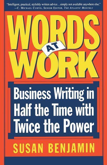 Words at Work als Taschenbuch