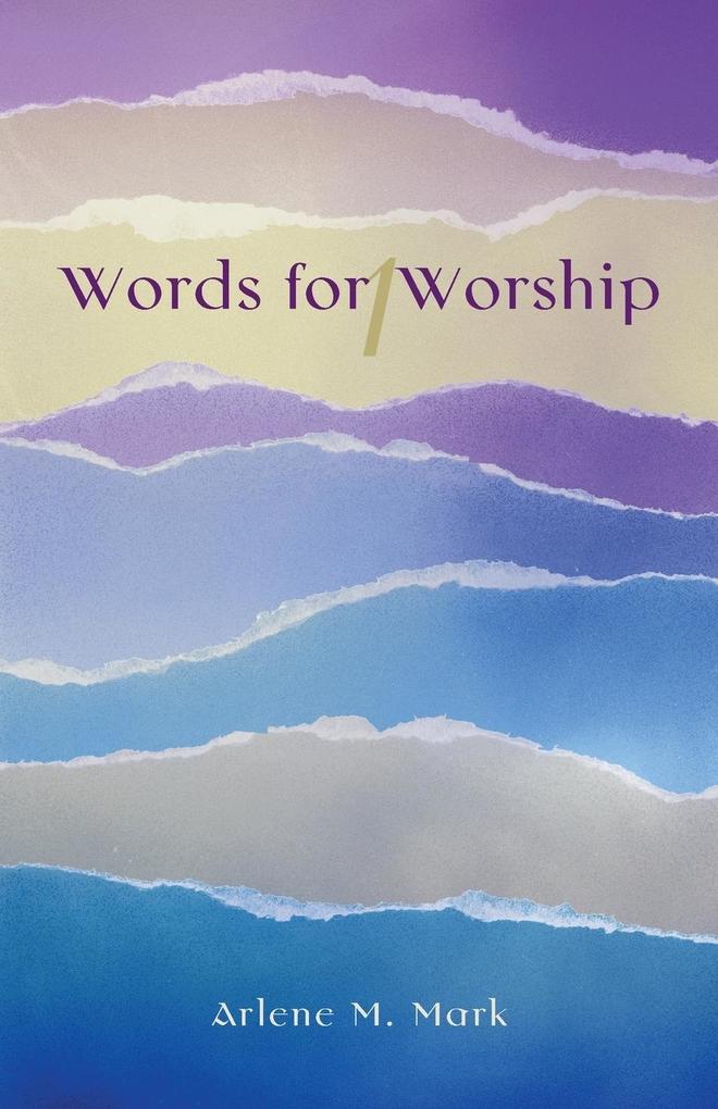 Words for Worship als Taschenbuch