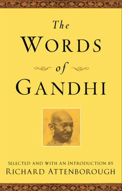 The Words of Gandhi als Taschenbuch