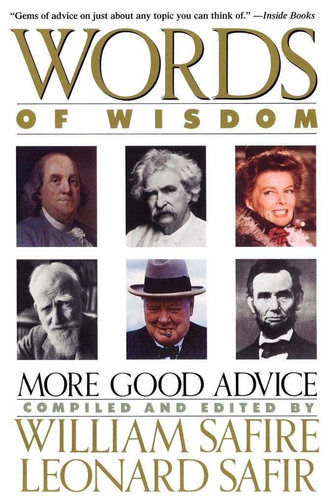 Words of Wisdom als Taschenbuch