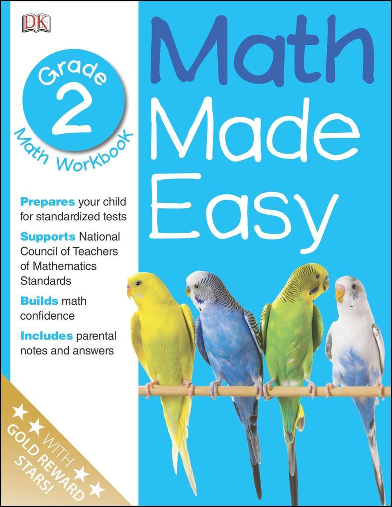Math Made Easy: Second Grade als Taschenbuch