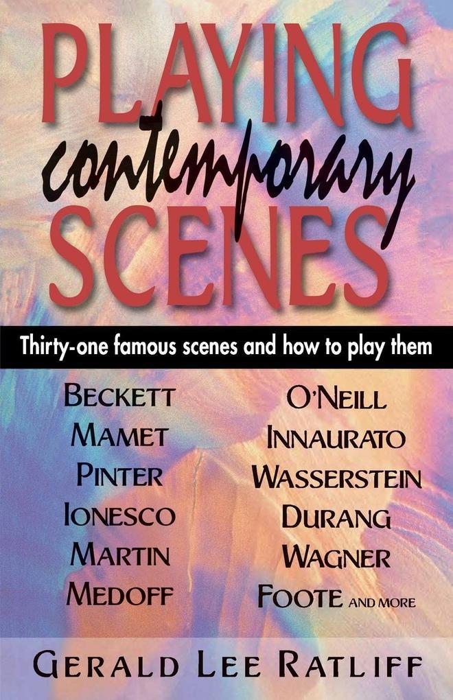 Playing Contemporary Scenes als Taschenbuch