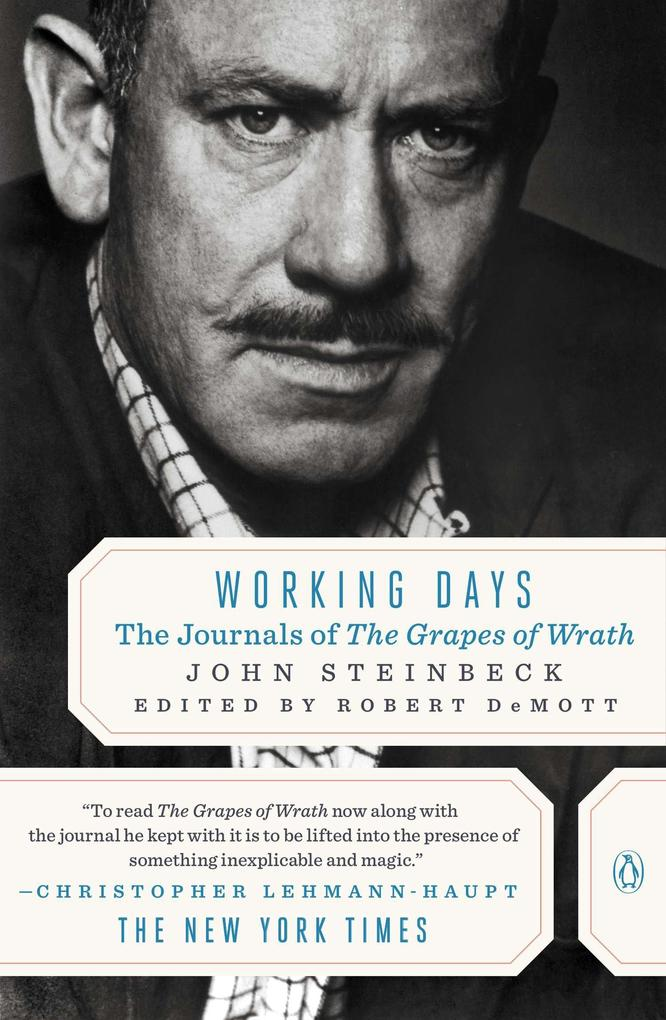 Working Days: The Journals of the Grapes of Wrath als Taschenbuch