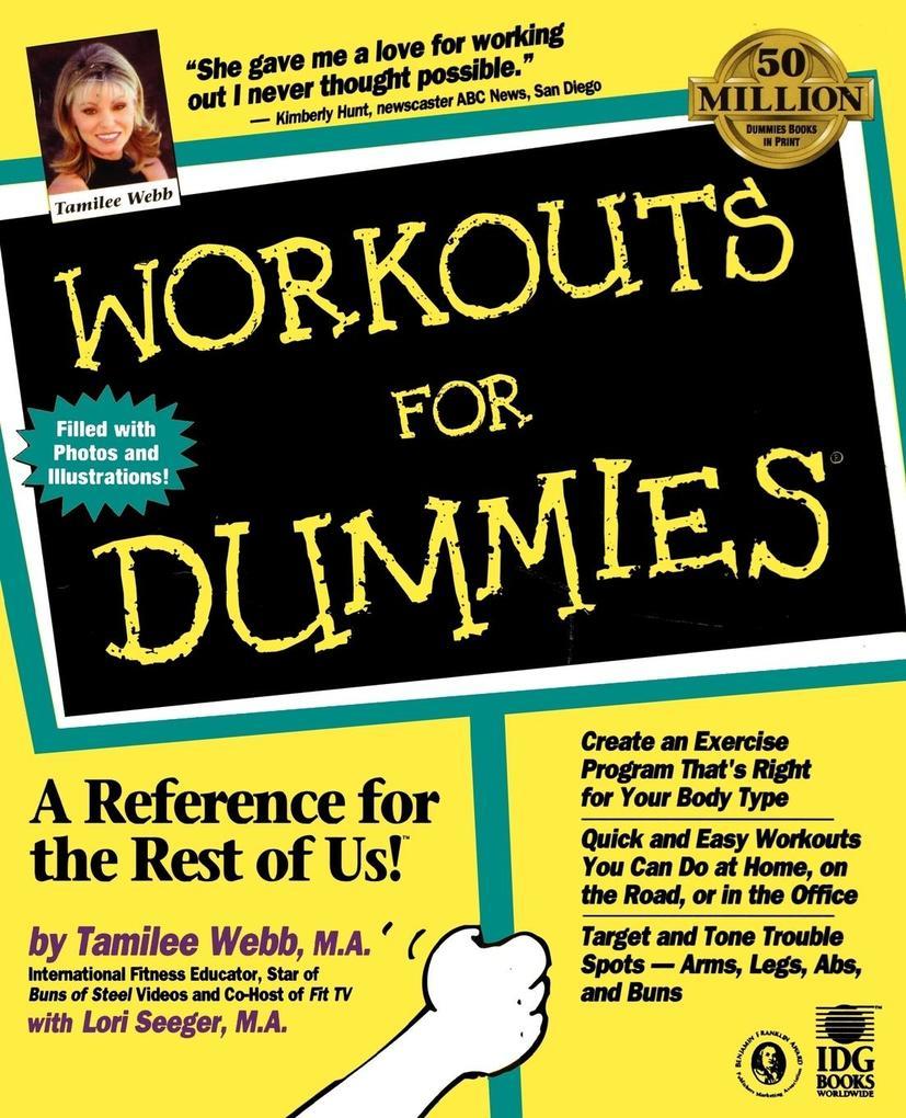 Workouts For Dummies als Taschenbuch