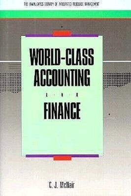World-Class Accounting and Finance als Buch